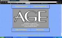 Web homepage cv