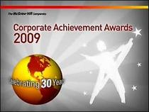Corporate achievement award 2 cv