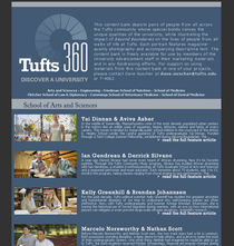 Tufts360 cv