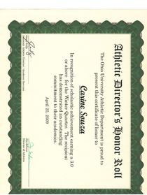 Certificate3 cv