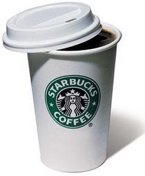 Starbucks cup cv