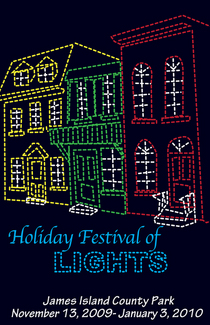 Holiday festival of lights cv
