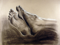 Life drawing feet 72dpi cv