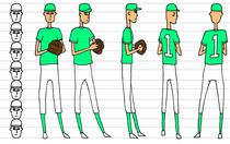 Pitcher color72 cv