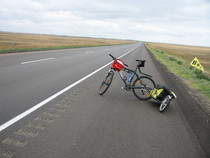 2h...back on the road in saskatchewan...the headwinds were w cv