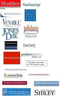 Major law firm clients cv