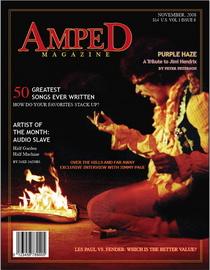 Magazine cover cv