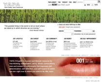 Yapa website design cv