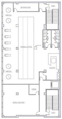 Fitness floor 4 cv