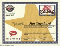 High impact coaching cv