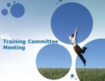 Training committee meeting pic cv