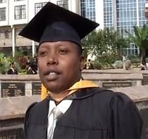 Graduation photo cv