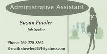 Business card cv