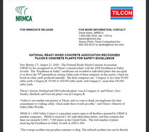 Nrmca press release cv