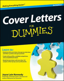 Cover letters for dummies cv