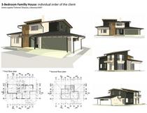 3 bedroom familly house  individual order of the client 2007 cv