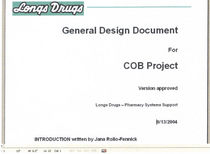 General design document intro cv
