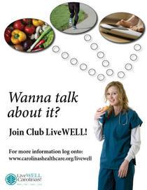 Club livewell flyer cv