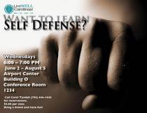 Self defense poster cv