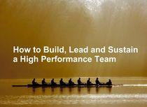 High performing teams cv