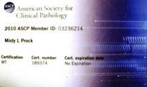 Ascp certification cv