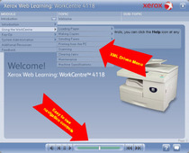 Xerox web learning ui cv