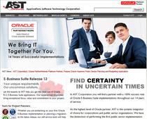 Ast website cv