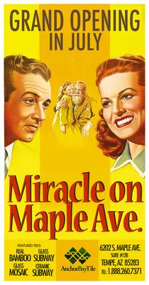 Miracle poster tile cv