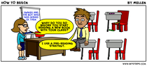 Cartoon prereading strategy cv