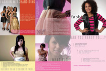 Fashion brochure cv