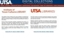 Digital.utsa.edu cv