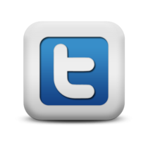 118061 matte blue and white square icon social media logos twitter logo square cv