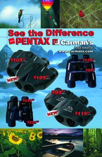 Carman s pentax back cv