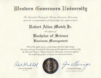 Diploma wgu bs mgmt sm cv