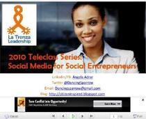 Social media 4 social entrepreneurs cv