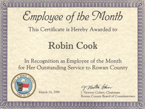 Employee of the month cv