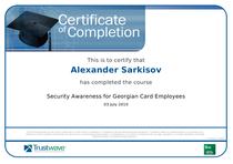 Gc trustwave certificate cv