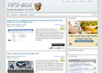 Tips box cv