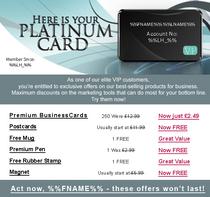 Pgs platium card cv