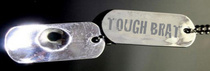 Tough brat dog tag 1 cv