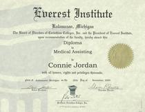 Everest diploma cv