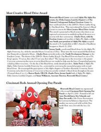 Hoxworth newsletter spring 2010 cv