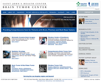 Brain tumor center cv