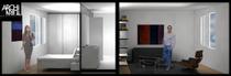Salle de bain design 3d3 architurn cv