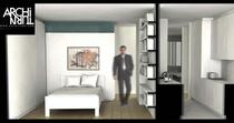 Salle de bain design 3d2 architurn cv