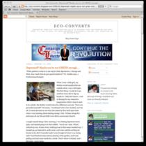 Eco converts blog cv