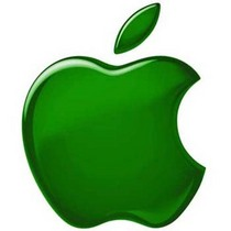 Green apple logo cv
