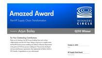 Hp award cv