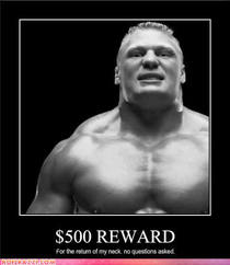 Celebrity pictures brock lesnar reward neck cv