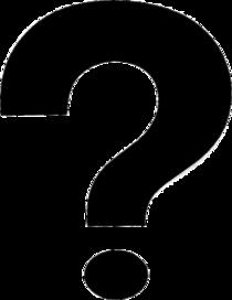 Question mark alternate cv